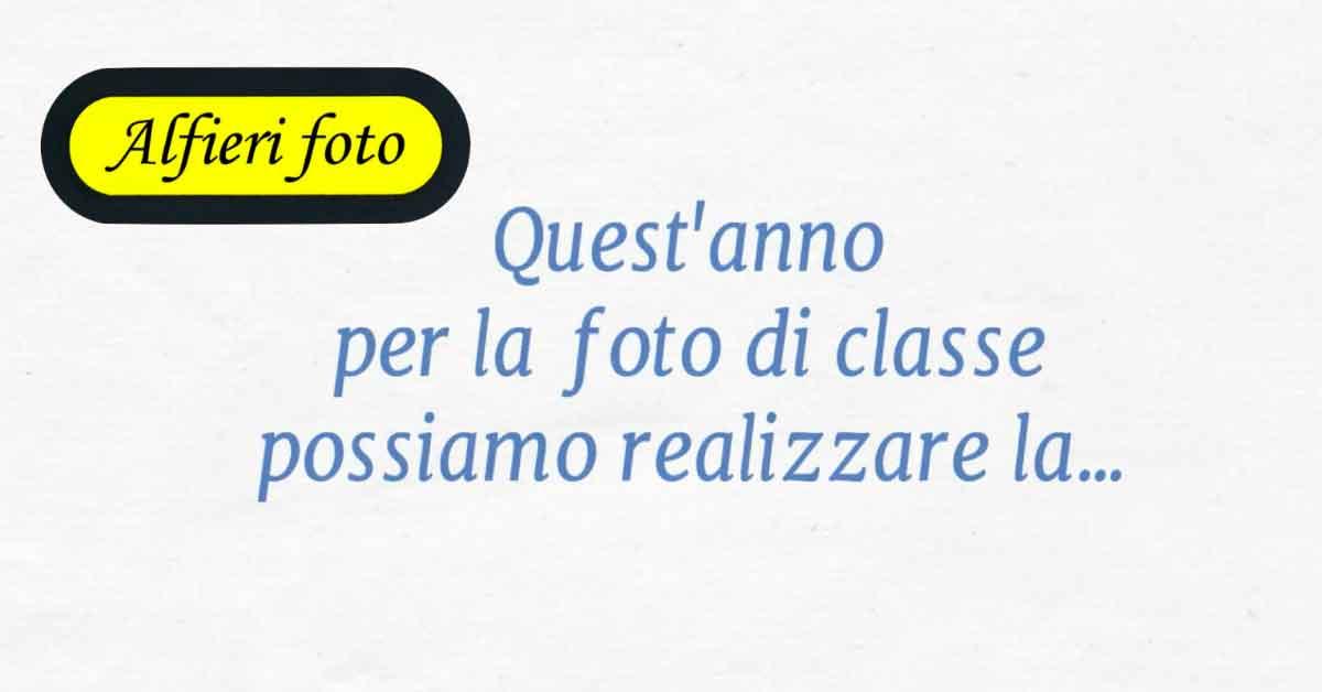 Read more about the article Foto di classe 2020